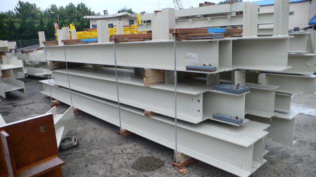 承运中化建钢结构出口项目